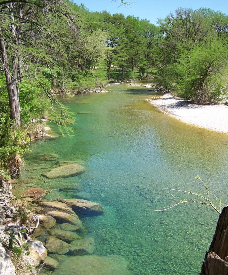 """""""We took our family to the Frio river last summer and we fell in LOVE. It's so beautiful. Definitely an opportunity to teach our kids about littering and how it can ruin beautiful places like the Frio."""" -Destini Taylor"""