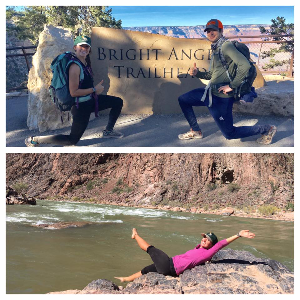 """""""I will always remember our 9 hour hike down to the Colorado River in the Grand Canyon! Seeing the true power of water and learning of its importance in the Southwest was truly eye opening!"""" -Patrick Houston"""